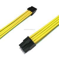 PCI-E 8 pin Sleeved ATX Extension Power Cable