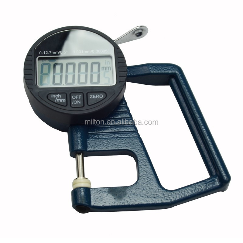Micron Digital <strong>Thickness</strong> Gauge with Feeler shape 0.001 Micrometer <strong>thickness</strong> meter 0 - 10 mm / 0.4 inch