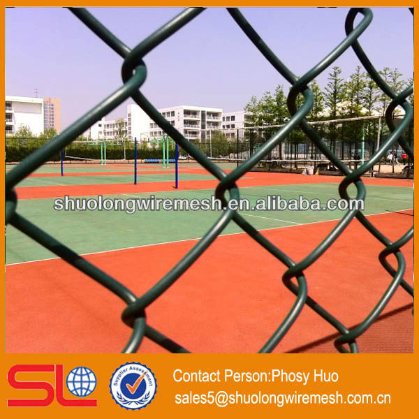 Chain link wire mesh fence,chain link fences,basketball chain nets