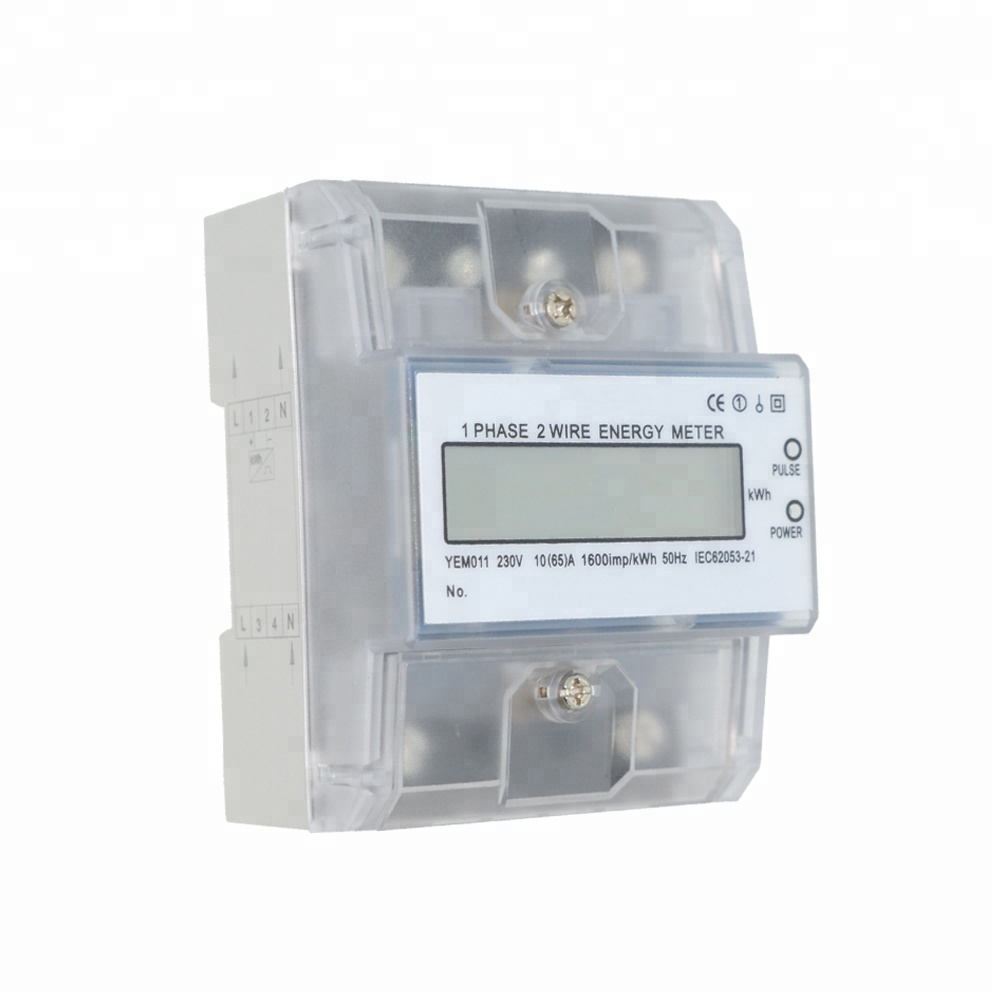 Single Phase Din Rail Digital Energy <strong>Meter</strong> Smart Electric <strong>Meters</strong>