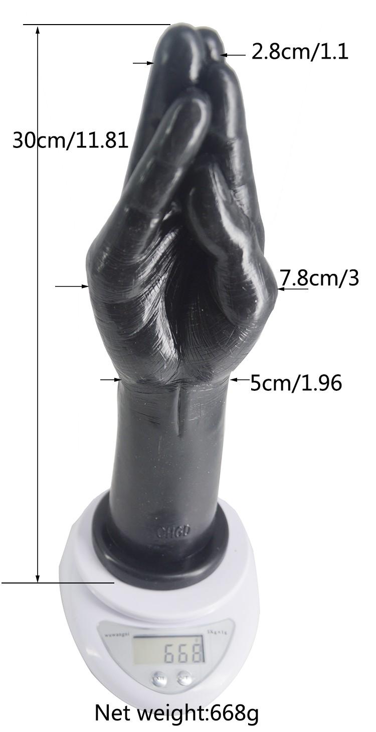 Sex toy black fist foto 518