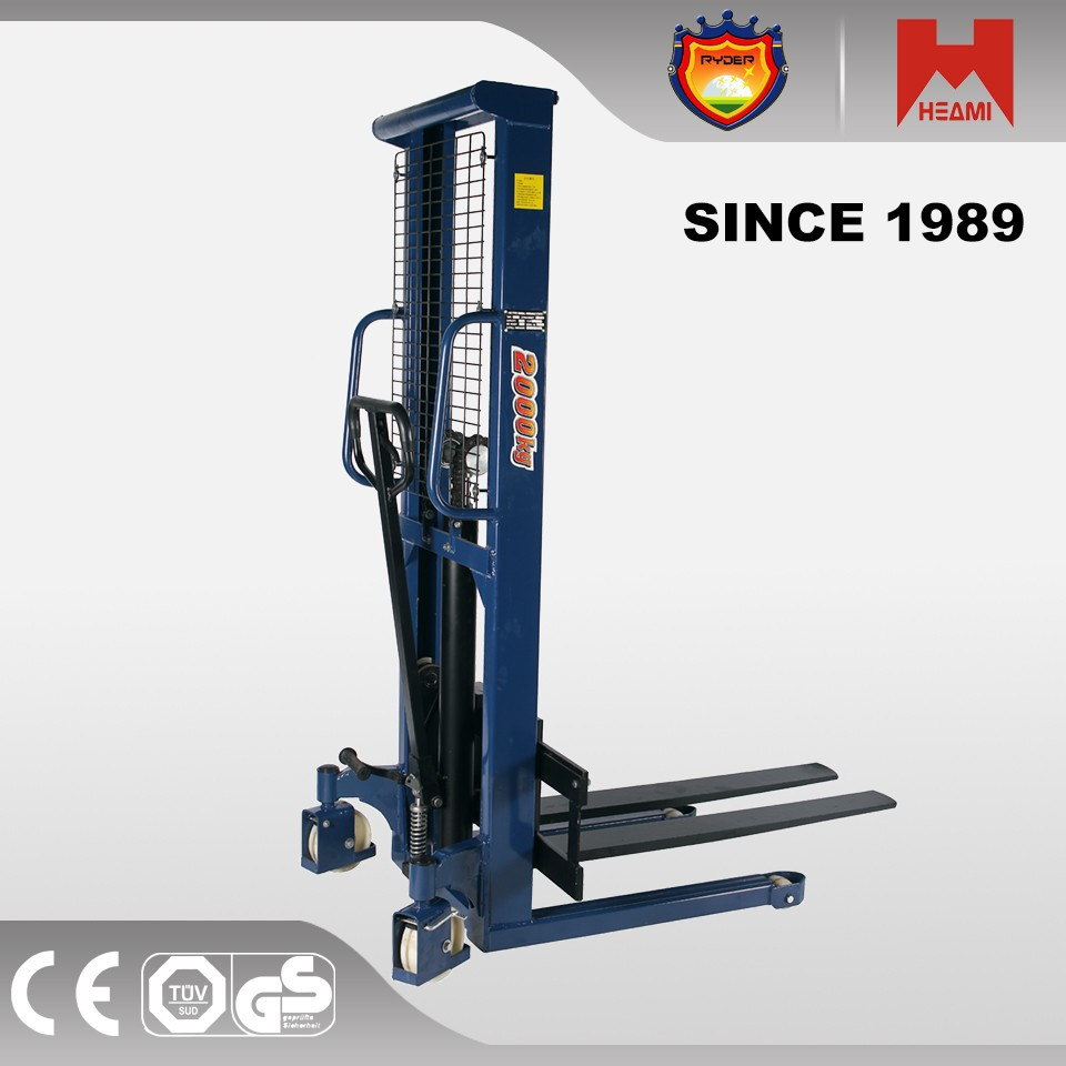 Manual Fork Lift/Hand pallet Stacker