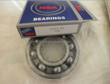 China manufacturer single row engine bearing,electrical machine bearing 6314