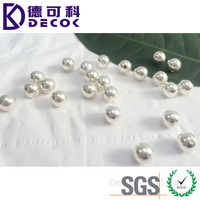 0.5mm to 70mm customized 201 304 316 316L stainless steel beads for jewelry making,stainless steel ball with hole & gold plated