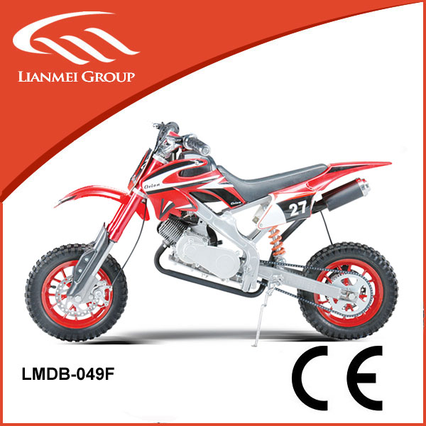 dirt bike mini cross 49cc mini cross motorcycle with metal pull starter with CE