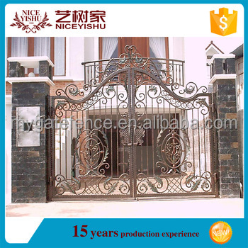 alibaba iron gate/Removable swimming pool safety fence child safety fence