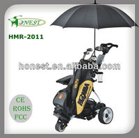 Floding Smart Digital Remote Electric Golf Carts Golf Trolley Golf Car for sale price HMR-2011