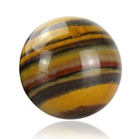 wholesale natural tiger eye gem stone ball stone sphere for crystal healing