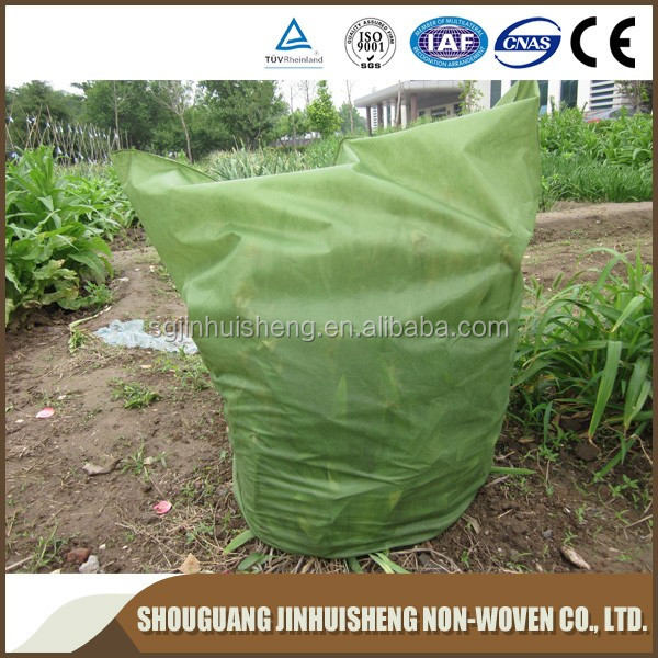[FACTORY] Green color plant tree cover/Nonwoven winter protection jackets/frost cover fleece