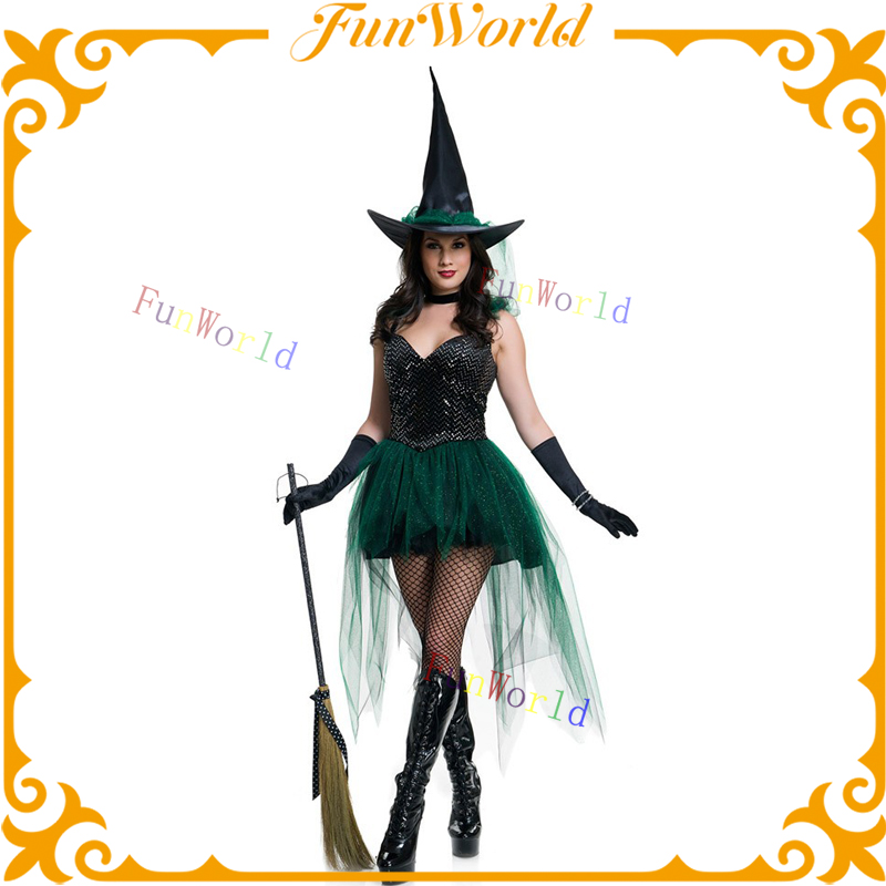 Black Witch Sexy Halloween Costume witch women costume