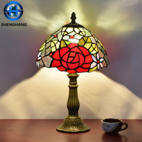 American country creative desk lamp of bedroom the head of a bed with factory price and high quality