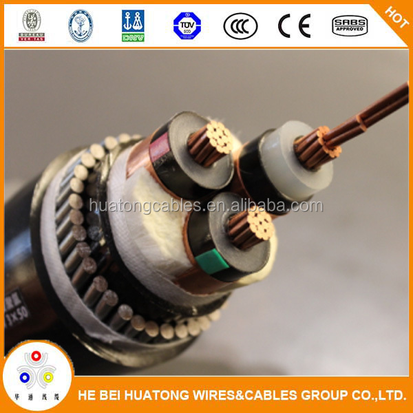 185mm2 Power Cable 15KV Hot Exporting Best Prices XLPE/PVC Insulation 70mm2 95mm2 120mm2 185mm2 POWER CABLE