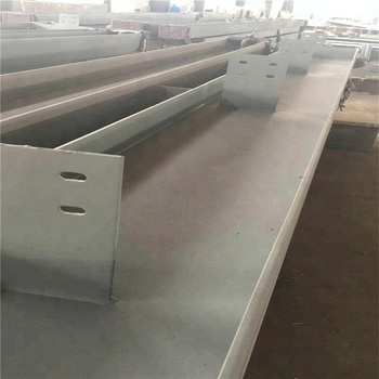 prefabricated steel H beam galvanized steel building material