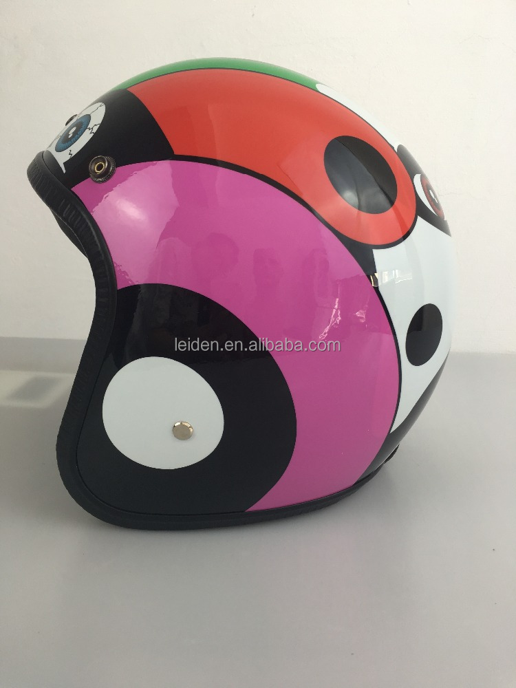 motor helmet open face helmet vintage TN8658 customized OEM with inner box motorbike helmet