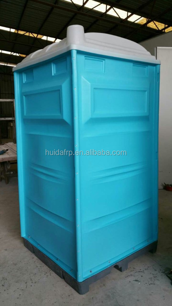China LLDPE HDPE plastic portable mobile toilet for construction site
