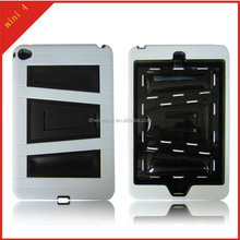 for ipad mini 4 ArmorBox 2 Layer Full-Body Protector KickStand Case with Built-in Screen Protector