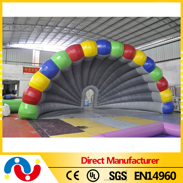 china manufacture inflatable band shell for sales promotion or music stage