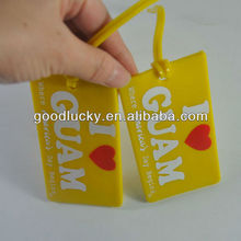 New arrival pvc baggage luggage tag for traveling