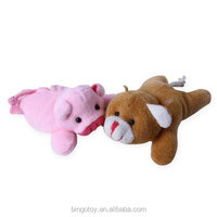 Small Stuffed Animal Plush Magic Pig And Bear Magnet Stick Toy