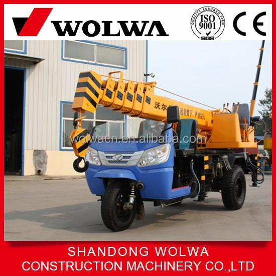 GNQY-ZS3 Mini Hoisting Mounted Crane Tricycle Truck