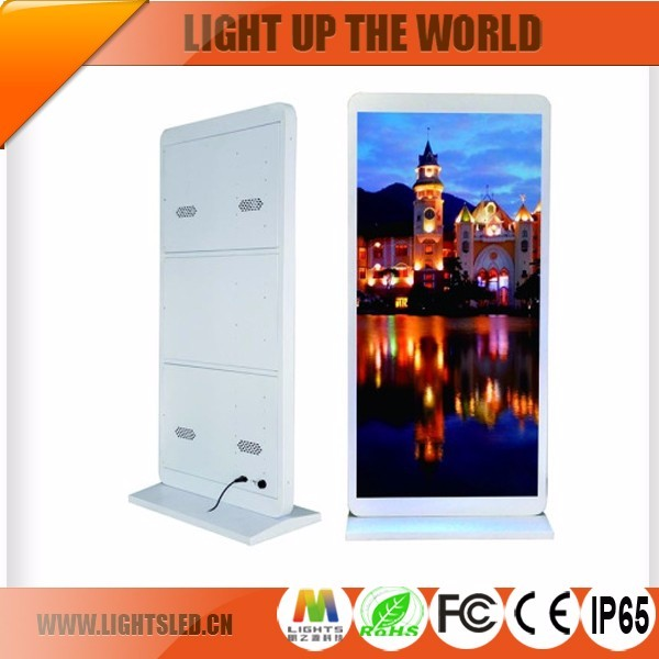 Hot Sale Ali Indoor LED /LCD Floor Standing Display 42 48 55 Inches Advertising Screen From China Supplier