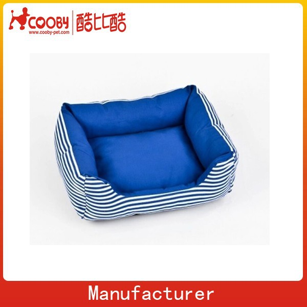 print vancas blue stripe pet sofa