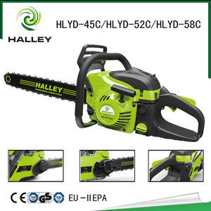 New Petrol Steel Chain Saw Wood Cutting Chainsaw Machine for HLYD - 52C
