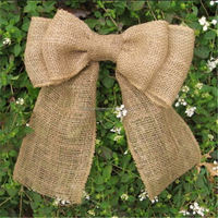 Excellent quality new arrival paper raffia ribbon bows pre tied bow