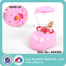 Novetly hot selling plastic pretend play bread maker/toaster wind up kitchen set toy