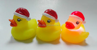 funny christmas rubber duck/bath toy