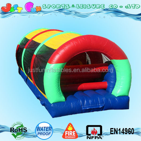 factory price inflatable obstacle tunnel game for kids