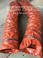 lightweight pvc cooling system air suct insulation flexible pipe duct