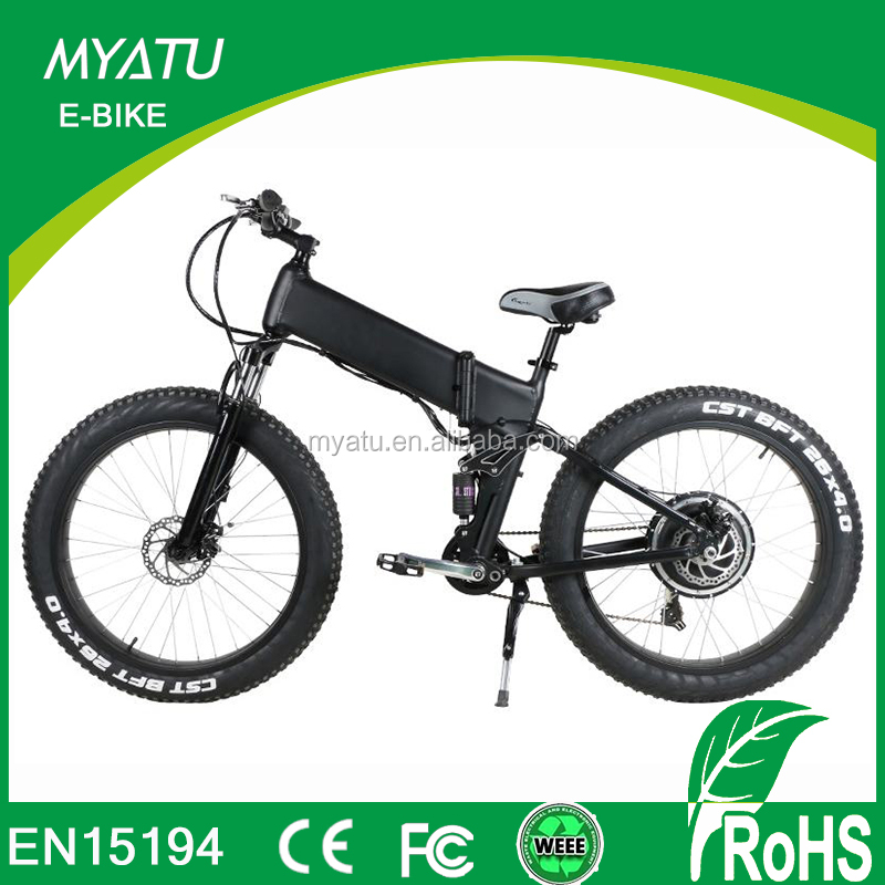 2017 new 500w fat e motorized electric bicycle with 4.0 fat tire