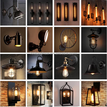 Indoor decorative Metal wall lamp vintage wall light 110V 220V