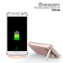 2017 new products electronics portable cell phone charger round power bank for samsung galaxy s7