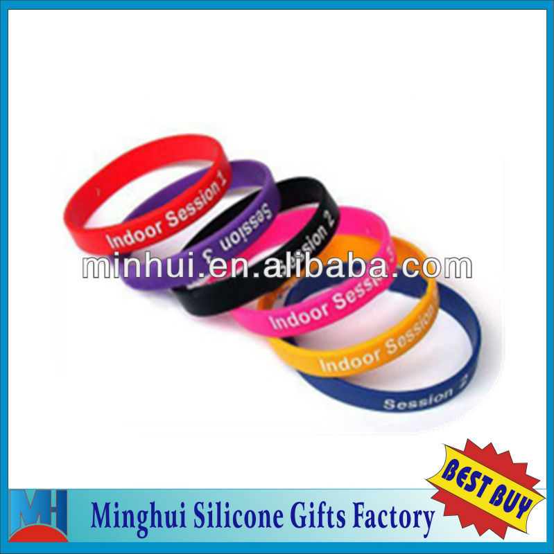 2016 super elastic silicone rubber bands
