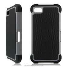 Shockproof Hybrid TPU + PC Armor Mobile Phone Case For Blackberry Z10
