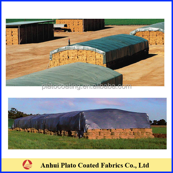 Hay Truck Shelter : High performance tear resistant hay storage cover