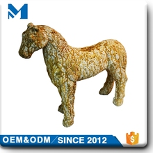 customized large animal horse animal sculpture , magnesium oxide animal status