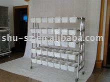 stainless steel mouse cage shelf rack