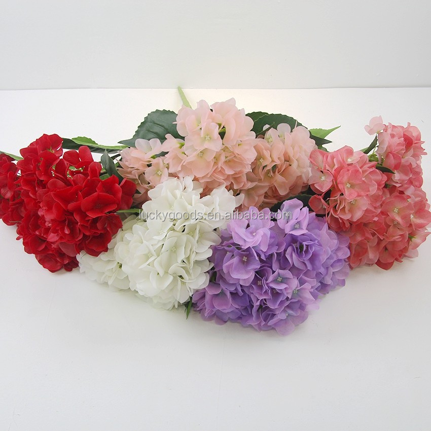 lf470 wholesale artificial hydrangea silk hydrangea wedding bouquets view silk hydrangea. Black Bedroom Furniture Sets. Home Design Ideas