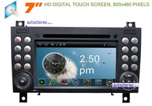 Car Audio Video with Android GPS Navigation System for Mercedesbenz SLK W171 Car DVD Player