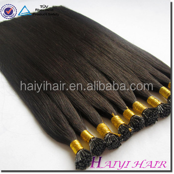 Wholesale Price Remy Italian Keratin Double Drawn Top Quality Brand Name double drawn i tip 0.8g