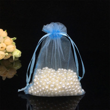 Perfect Quality embroidery organza pouch