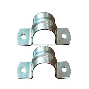 Stainless Steel Two Hole Electric Conduit Pipe Clamp