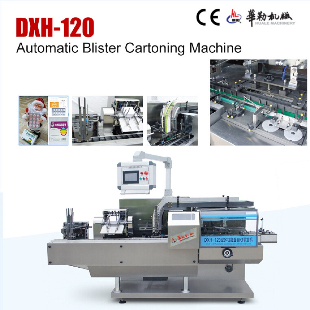 Automatic biscuit cookies with tray cartoning machine carton box packing machine