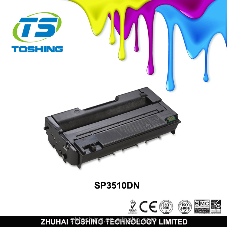 Bulk buy from china laser compatible toner cartridges for Ricoh SP3510