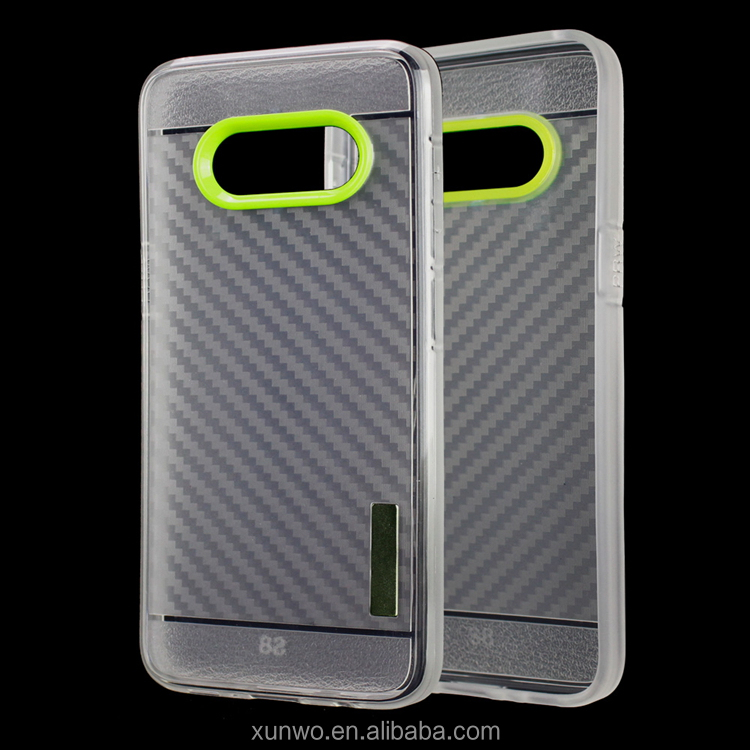 Paypal accept Factory direct supply Clear carbon fiber case for huawei p9 lite, for huawei p9 lite back cover case