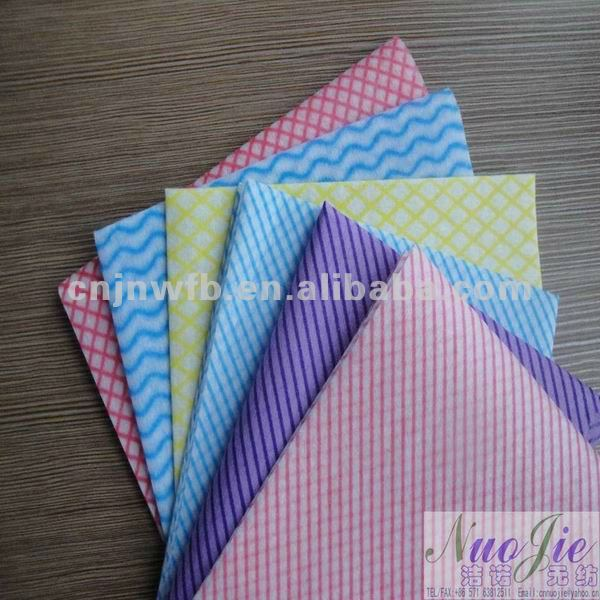 spunlace nonwoven color felt fabric needle felt
