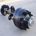 High quality trailer american type axle for Morocco